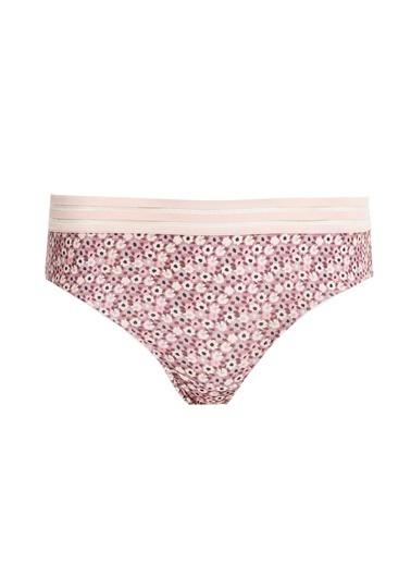 Defacto –Fit Lastik Detaylı Bikini Külot Pembe